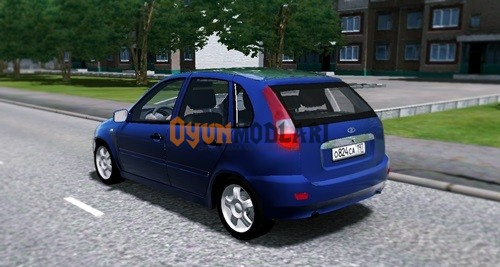 Photo of City Car Driving – Lada Kalina – VAZ 1119 Araba Yaması