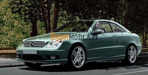 Photo of City Car Driving – Mercedes CLK55 AMG Araba Yaması