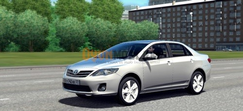 Photo of City Car Driving –  Toyota Corolla 2013 Model