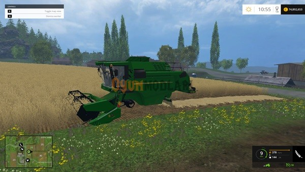 Photo of Farming Simulator 2015 – John Deere W-330 Biçer Döver