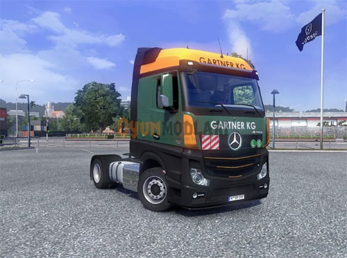 Photo of Euro Truck Simulator 2 – Mercedes Actros MP4 Kamyon Modu