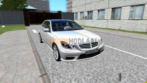 Photo of City Car Driving 1.4 – Mercedes-Benz E63 AMG Araba Yaması