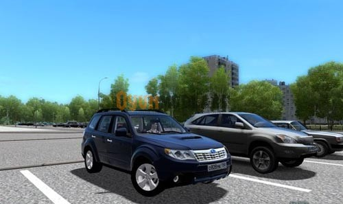 Photo of City Car Driving 1.4 – Subaru Forester Araba Yaması