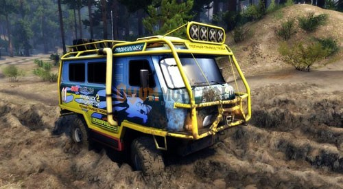 Photo of UAZ-3909 Off-Road – Spin Tires