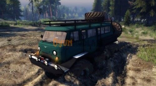 Photo of UAZ 6X6 – Spin Tires