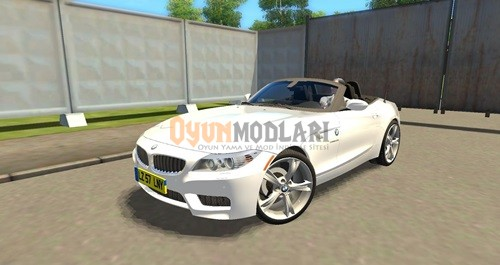 Photo of City Car Driving 1.4 – BMW Z4 sDrive28i Araba Yaması