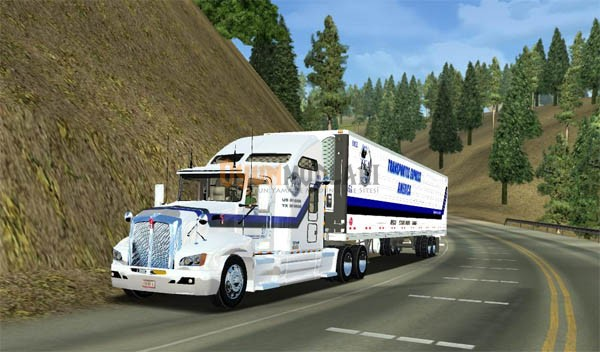 Photo of Kenworth T660 American Long Haul Yaması