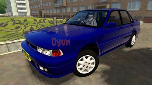 Photo of City Car Driving 1.4 – Mitsubishi Galant VR4 1992 Model Araba Yaması