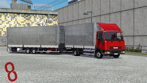 Photo of Euro Truck Simulator 2 – Iveco Eurocargo Kamyon Modu