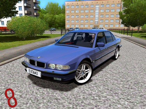 Photo of City Car Driving 1.4 – BMW 750iL E38 Araba Yaması