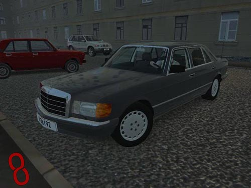 Photo of City Car Driving 1.4 – Mercedes-Benz 560 SEL W126 Araba Yaması
