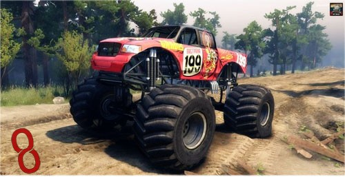 Photo of Pastrana Monster  – Spin Tires 2014