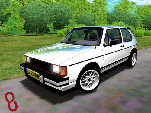 Photo of City Car Driving 1.4 – Volkswagen Rabbit GTI Araba Yaması