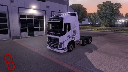 Photo of Euro Truck Simulator 2 – Volvo FH 2012 Tom ve Jerry Tır Skini