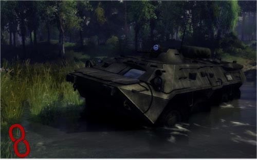 Photo of BTR-80 GAS 5903 Askeri Araç – Spintires 2014