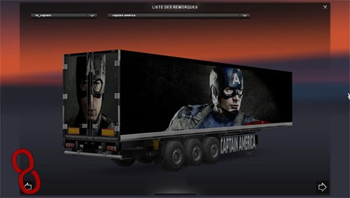 Photo of Kaptan Amerika Dorse Modu – Euro Truck Simulator 2