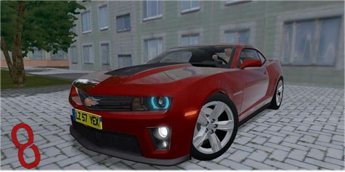Photo of Chevrolet Camaro ZL1 Araba Yaması – City Car Driving 1.4