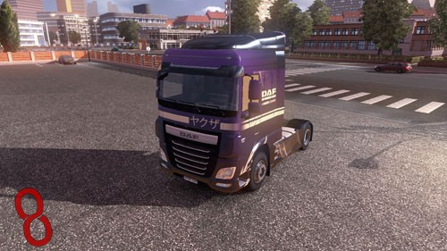Photo of DAF Euro 6 Samurai SFW Tır Skini – Euro Truck Simulator 2