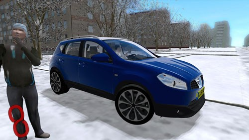 Photo of Nissan Qashqai Araba Yaması – City Car Driving 1.4