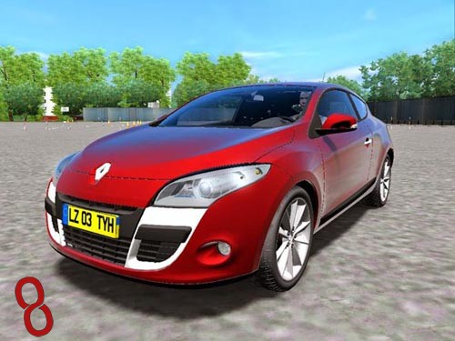 Photo of Renault Megane Araba Yaması – City Car Driving 1.4