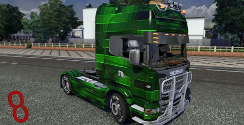 Photo of Scania Revstill Tır Skini – Euro Truck Simulator 2