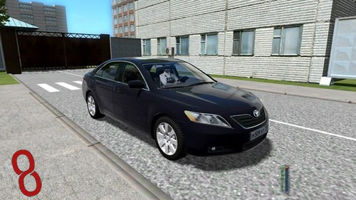 Photo of Toyota Camry Araba Yaması – City Car Driving 1.4