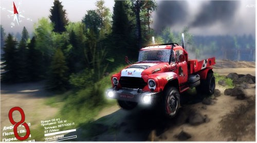 Photo of ZiL 130 Auto Cross 4×4 Kamyon Modu – Spin Tires 2014