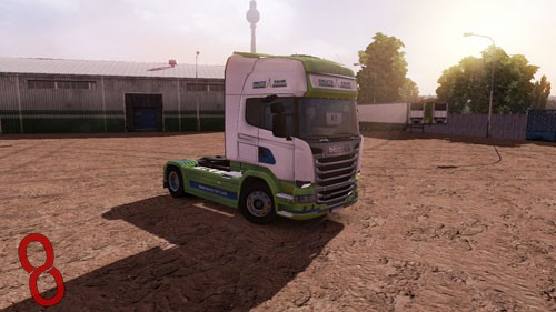 Photo of Scania Streamline Deutz Fahr Tır + Dorse Skin Paketi – Euro Truck Simulator 2