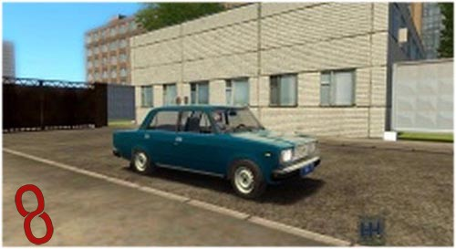 Photo of VAZ 2107 Araba Yaması – City Car Driving 1.4