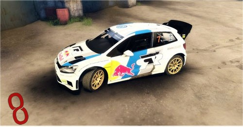 Photo of Volkswagen Polo WRC Araba Yaması – Spin Tires 2014