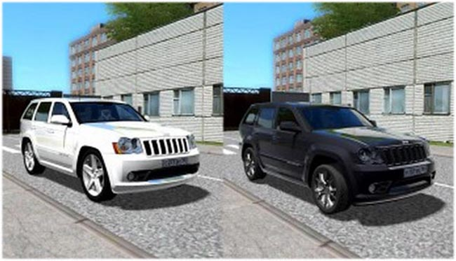 Photo of Jeep Grand Cherokee SRT8 2008 Model Araba Yaması – City Car Driving 1.4