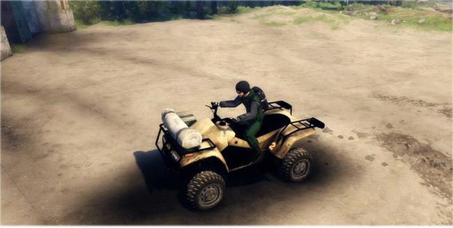 Photo of Quadbike ATV Modu – Spin Tires 2014