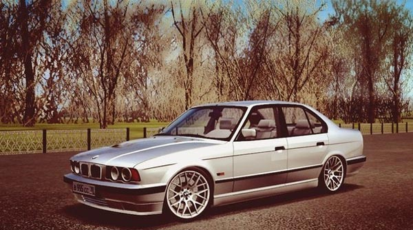 Photo of BMW 525i E34 Araba Yaması – City Car Driving 1.4