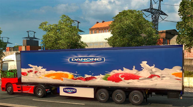 Photo of Danone Dorse Modu – Euro Truck Simulator 2
