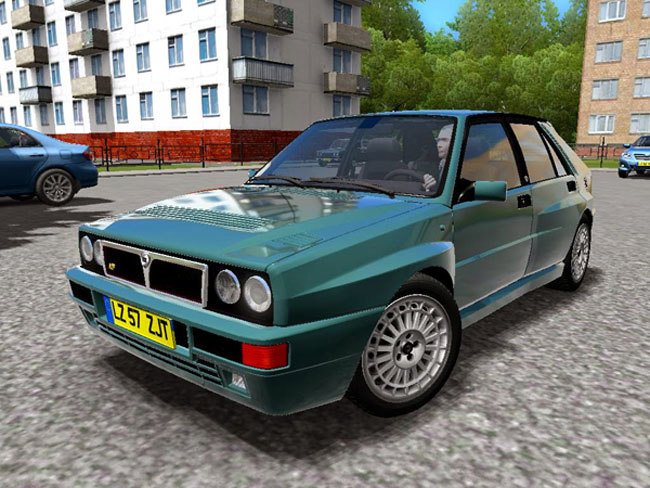 Photo of Lancia Delta 92 Araba Yaması – City Car Driving 1.4