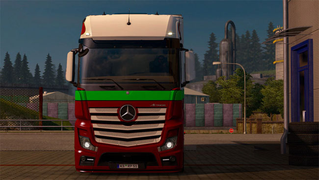 Photo of Mercedes-Benz MP4 Tır Skini – Euro Truck Simulator 2
