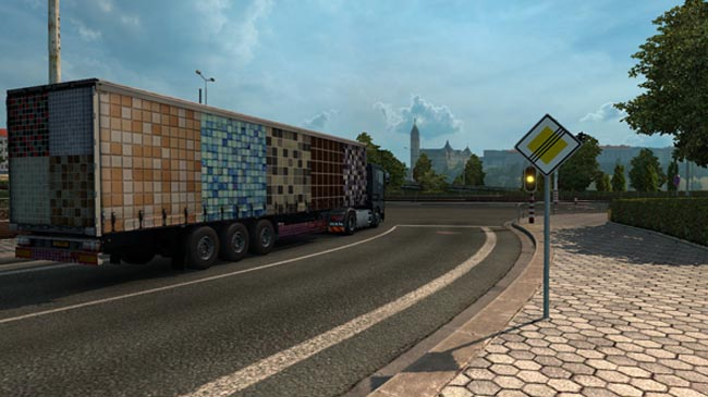 Photo of Mozaika Dorse Modu – Euro Truck Simulator 2