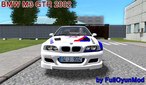 Photo of BMW M3 GTR 2002 Model Araba Yaması – City Car Driving 1.4