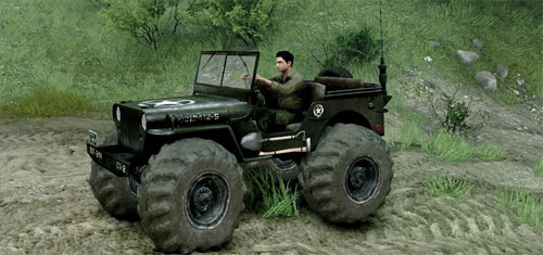Photo of Jeep Willys – Spintires 2014