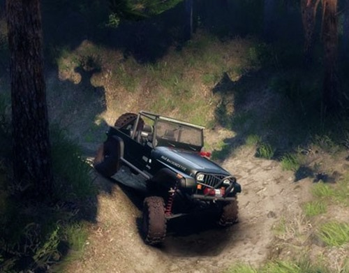 Photo of Jeep YJ 1987 Model – Spin Tires 2014