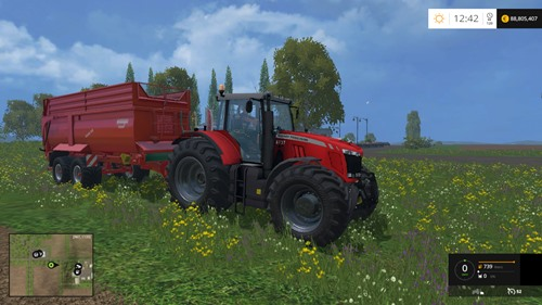 Photo of Massey Ferguson 8737 Traktör – Farming Simulator 2015