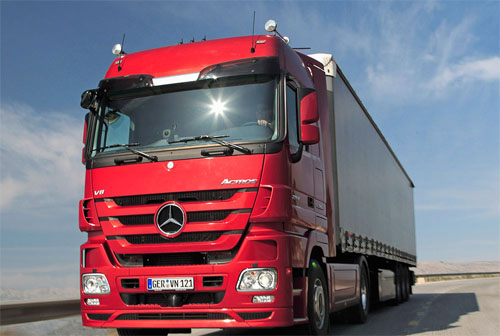 Photo of Mercedes-Benz Actros MPIV Ses Modu – Euro Truck Simulator 2