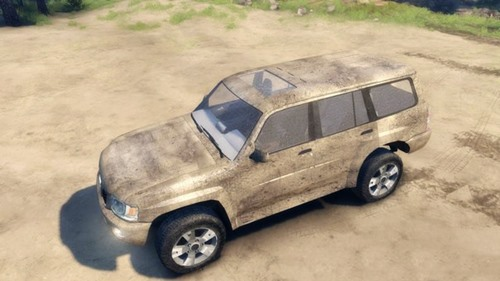 Photo of Nissan Patrol 2005 Model Araba Modu – Spin Tires 2014