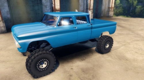 Photo of 66 Chevy C-30 Pick-Up Yaması – Spin Tires 2014