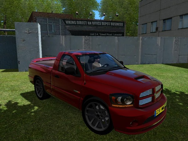 Photo of Dodge Ram SRT-10 Pick-up Yaması – City Car Driving 1.4.1