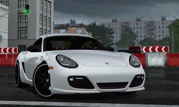 Photo of Porsche Caymen R Araba Yaması – City Car Driving 1.4.1
