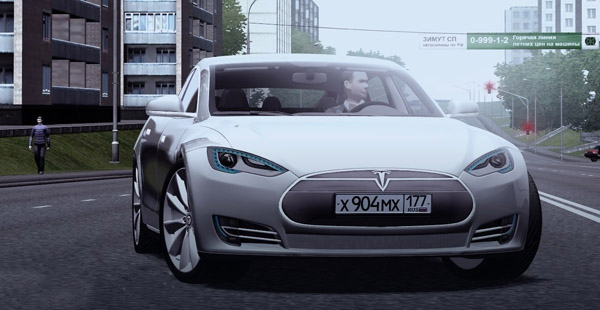 Photo of Tesla Model S Araba Yaması – City Car Driving 1.4.1
