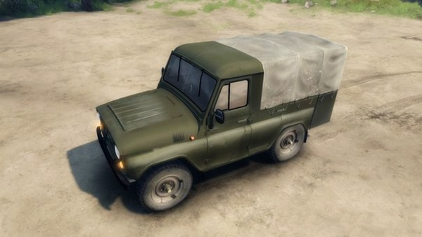 Photo of UAZ 31512 – Spin Tires 2014