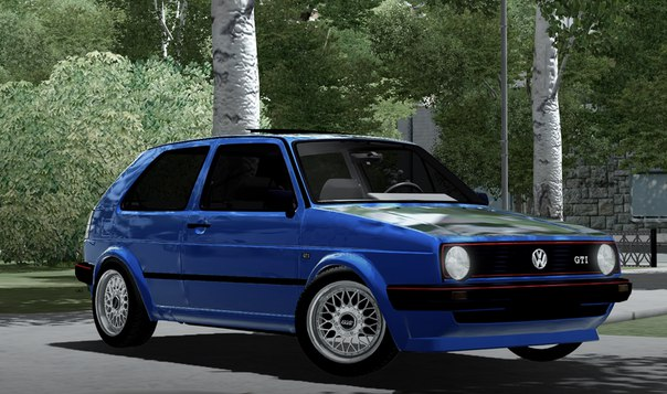 Photo of Volkswagen Golf MK2 GT Araba Modu – City Car Driving 1.4.1