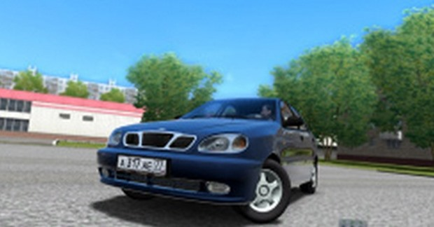 Photo of Daewoo Lanos Hatchback Araba Yaması – City Car Driving 1.4.1